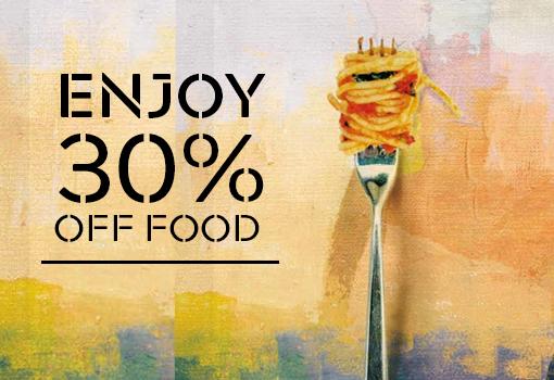 30% off food at Prezzo
