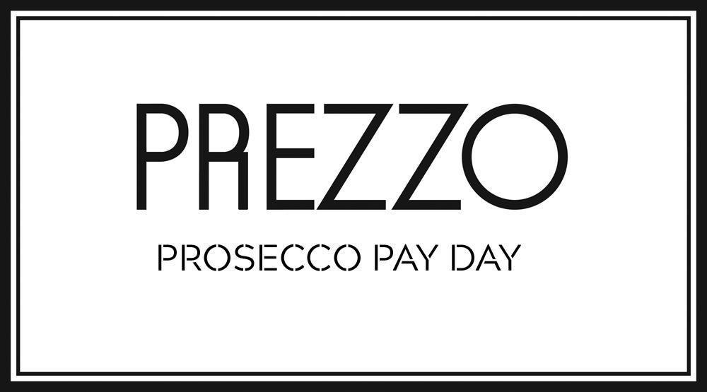 Prosecco £15pp