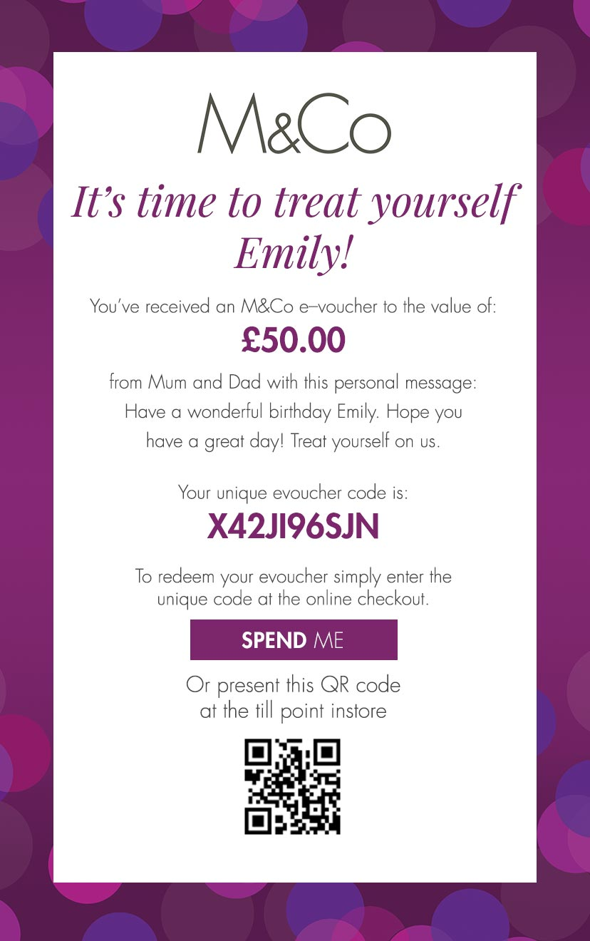 Purple eGIft Voucher
