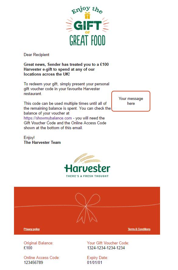 Harvester Red
