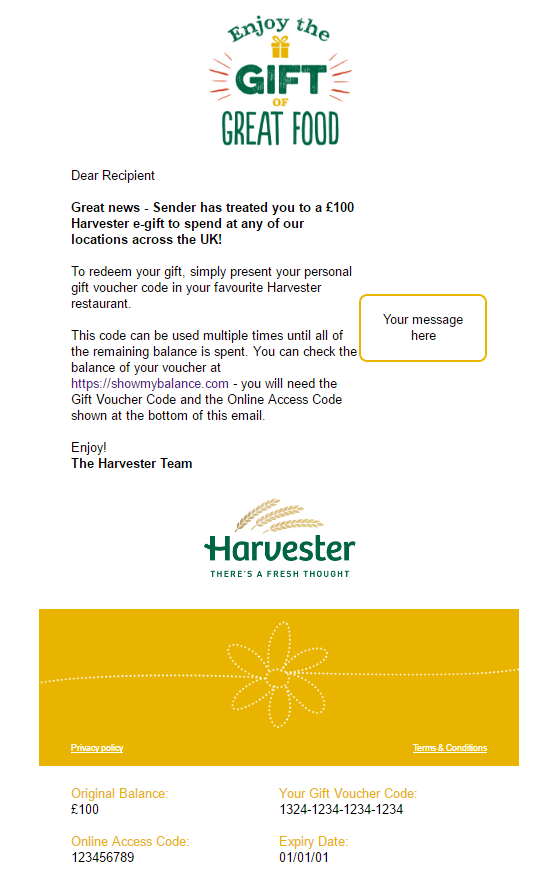 Harvester Yellow
