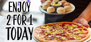 Pizza Wednesdays: 2 for 1 on Mains and Dough Balls