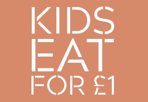 Kids eat for £1